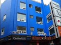 蓝色爆米花青年旅馆的封面