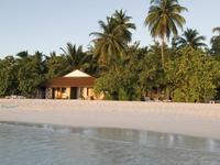 钻石岛阿莎格海滩和水上别墅酒店的封面