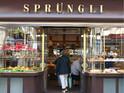 Sprüngli甜品店的封面