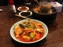 新罗韩式料理的封面