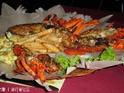 皇宫中国海鲜菜馆的封面