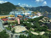 香港海洋公园的封面