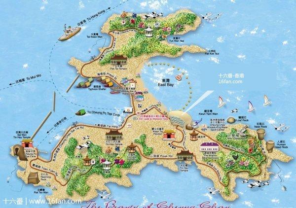 长洲岛的照片