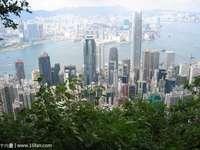 香港太平山顶的封面