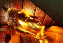曼谷卧佛寺的封面