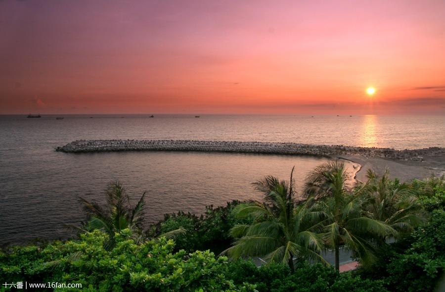 中国 台湾 高雄市 西子湾风景区 西子湾风景区的照片