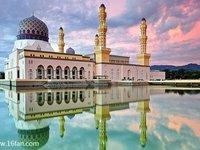 亞庇市立清真寺的封面
