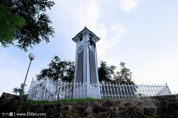 艾京生钟楼的照片
