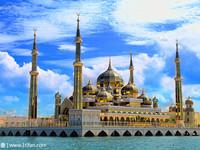 水晶清真寺的封面