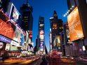 纽约时代广场的封面