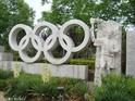 瑞士洛桑奥林匹克公园的封面