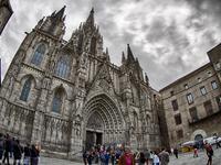 巴塞罗那大教堂的封面