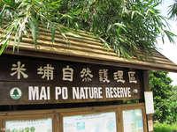 米埔自然护理区的封面