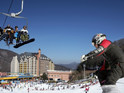 韩国京畿道芝山滑雪场的封面