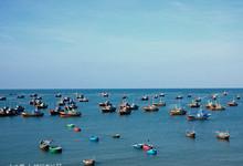 美奈渔港的封面