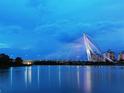 布城钢索大桥的封面