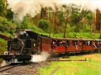 普芬比利蒸汽小火车的封面