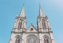 石室圣心大教堂的封面