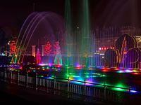 大雁塔音乐喷泉的封面