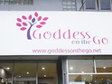 Goddess on the Go!女装店的封面